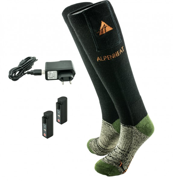 ALPENHEAT Heizsocken FIRE-SOCKS Wolle
