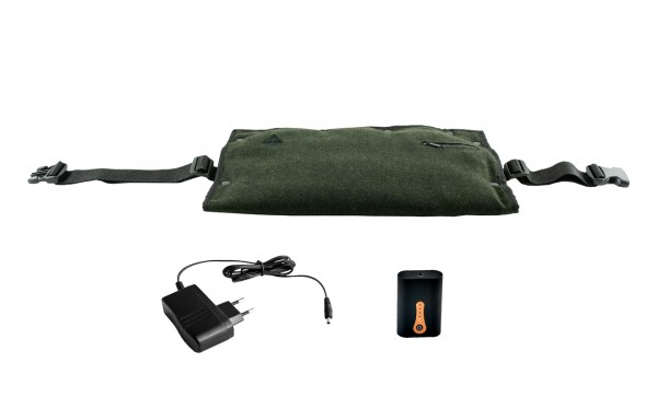 ALPENHEAT beheizter Muff FIRE 2in1 Muff&Cushion